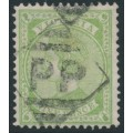 AUSTRALIA / VIC - 1892 9d apple-green Queen Victoria STAMP DUTY, used – SG # 319