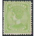 AUSTRALIA / VIC - 1892 9d apple-green Queen Victoria with crown V watermark,, MH – SG # 319