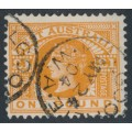 AUSTRALIA / WA - 1902 £1 orange-brown QV, V crown watermark, perf. 12½, used – SG # 128