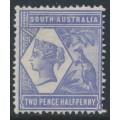 AUSTRALIA / SA - 1894 2½d violet-blue Queen & Kangaroo, perf. 15, MH – SG # 234