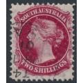 AUSTRALIA / SA - 1898 2/- rose-carmine QV, broad star watermark, perf. 11½:11½, CTO – SG # 134