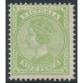 AUSTRALIA / VIC - 1892 9d apple-green Queen Victoria, V crown watermark, MH – SG # 319