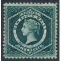 AUSTRALIA / NSW - 1903 5d dark blue-green Diadem, crown NSW watermark, perf. 11:12, MH – SG # 329