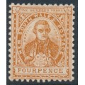 AUSTRALIA / NSW - 1905 4d brown Cook, single-lined A crown watermark, MH – SG # 338