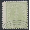AUSTRALIA / NSW - 1892 ½d green Postage Due, perf. 10:10, CTO – SG # D1