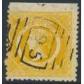 AUSTRALIA / NSW - 1885 8d yellow Diadem, perf. 11:11, crown NSW watermark, used – SG # 236b