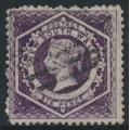 AUSTRALIA / NSW - 1860 6d violet Diadem, perf. 12:12, '6' watermark, used – SG # 148