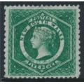 AUSTRALIA / NSW - 1882 5d bright green Diadem, perf. 12:10, crown NSW watermark, MNG – SG # 232ca