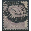 AUSTRALIA / VIC - 1868 3d grey-lilac Laureates, double-lined '1' watermark, used – SG # 157