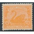 AUSTRALIA / WA - 1906 10d rose-orange Swan, perf. 12½, crown A watermark, MH – SG # 146