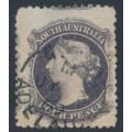 AUSTRALIA / SA - 1868 4d dull purple QV Diadem, perf. 11½:11½, used – SG # 70