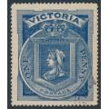 AUSTRALIA / VIC - 1897 1d (1/-) blue Diamond Jubilee, used – SG # 353