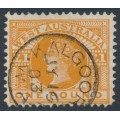 AUSTRALIA / WA - 1902 £1 orange-brown QV, V crown watermark, used – SG # 128