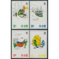 HONG KONG - 1977 Tourism Publicity set of 4, MNH – SG # 364-367