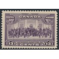 CANADA - 1935 13c purple Confederation Conference, MNH – SG # 348