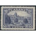 CANADA - 1935 50c deep violet Parliament Buildings, Victoria, BC, MH – SG # 350