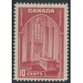 CANADA - 1938 10c red Memorial Chamber, MNH – SG # 363a