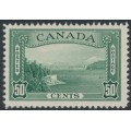 CANADA - 1938 50c green Vancouver Harbour, MNH – SG # 366