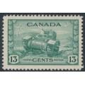 CANADA - 1942 13c dull green Ram Tank, MNH – SG # 384