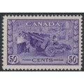 CANADA - 1942 50c violet Munitions Factory, MNH – SG # 387