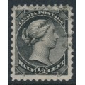 CANADA - 1882 ½c black Queen Victoria, small type, used – SG # 101