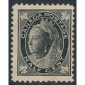 CANADA - 1897 ½c black Queen Victoria (leaves in four corners), mint hinged – SG # 142