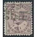 CANADA - 1903 10c pale dull purple King Edward VII, used – SG # 183