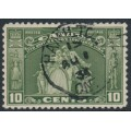 CANADA - 1934 10c olive-green United Empire Loyalists, used – SG # 333