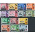 GIBRALTAR - 1967 Sailing Ships set of 14, used – SG # 200-213