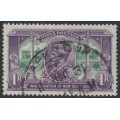 INDIA - 1931 1R violet/green New Delhi, used – SG # 231