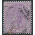 INDIA - 1874 9p bright mauve QV, elephant watermark, used – SG # 77