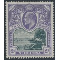 ST HELENA - 1903 2/- black/violet Government House, MH – SG # 60
