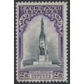 FALKLANDS IS - 1933 2/6 black/violet Battle Memorial, MH – SG # 135