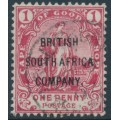 RHODESIA - 1896 1d red Cape of Good Hope overprinted BSAC, used – SG # 59