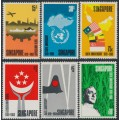 SINGAPORE - 1969 150th Anniversary of Singapore set of 6, MNH – SG # 121-126