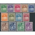 SIERRA LEONE - 1932 ½d to £1 KGV Definitives set of 13, MH – SG # 155-167
