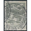 DENMARK - 1929 50øre grey Airmail, used – Facit # 216