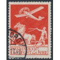 DENMARK - 1925 25øre red Airmail, used – Facit # 215