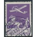 DENMARK - 1925 15øre violet Airmail, used – Facit # 214