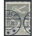DENMARK - 1929 50øre grey Airmail, used – Facit # 216