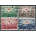 FINLAND - 1939 Red Cross charity set of 4, used – Facit # 221-224