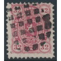 FINLAND - 1875 32Pen reddish carmine Coat of Arms, perf. 11:11, used – Facit # 18Sg