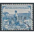 FRANCE - 1917 25c+15c blue War Widows Charity, used – Michel # 131