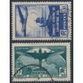 FRANCE - 1936 Atlantic Crossings set of 2, used – Michel # 326-327