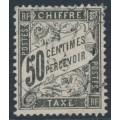 FRANCE - 1892 50c black Postage Due, used – Michel # P27