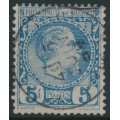 MONACO - 1885 5c dull blue Prince Charles III, used – Michel # 3