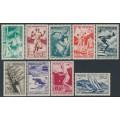 MONACO - 1948 50c to 15Fr London Olympics set of 9, MH – Michel # 339-347