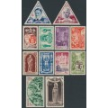 MONACO - 1950 10c to 100Fr Holy Year (Anno Santo) set of 12, MH – Michel # 429-440