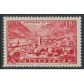 ANDORRA - 1951 18Fr red Andorra la Vella, MH – Michel # 133