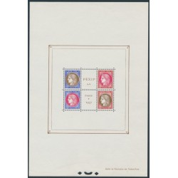 FRANCE - 1937 PEXIP Stamp Exhibition sheetlet of 4, MH – Michel # Block 3